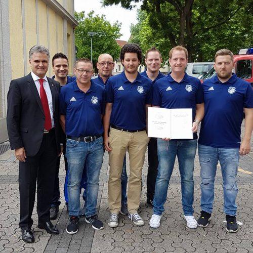 Erwin Esser + SSV Vorstand